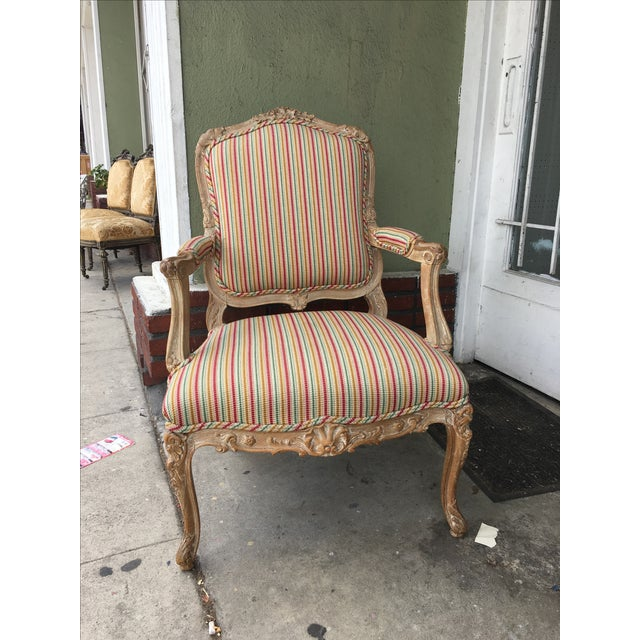 Antique 1920s French Style Armchairs - A Pair - Image 9 of 9
