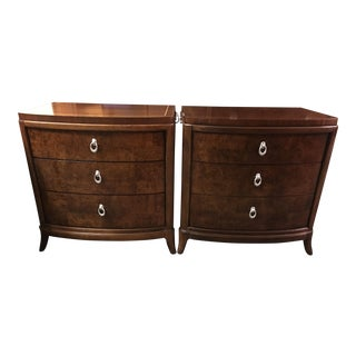 Thomasville Bogart Collection Nightstands - A Pair