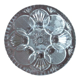 Shallow Cut Crystal Bowl
