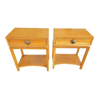 Paul Frankl End Tables / Nightstands - A Pair