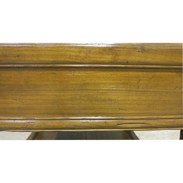 Vintage Sarreid LTD Elm Side Table Base - Image 3 of 4