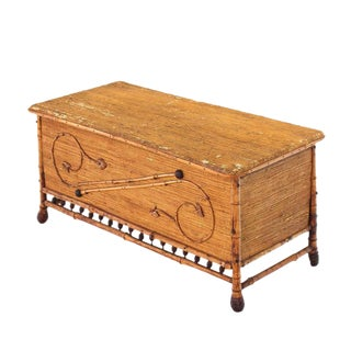 Burnt Bamboo Hope Chest