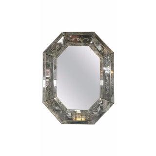 Palacial Octagonal Venetian Style Mirror