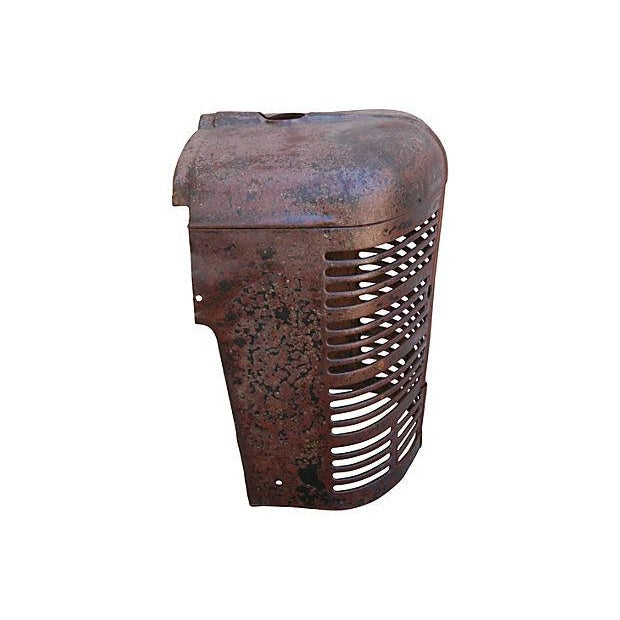 Antique Industrial Farm Tractor Grill Art Piece - Image 6 of 7
