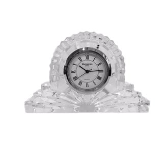 "Petite Waterford Crystal ""Wharton"" Mantel Clock"