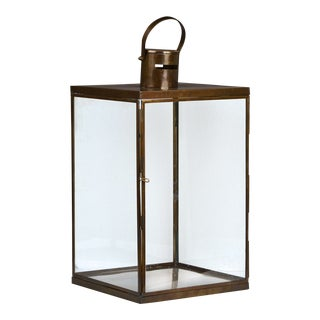 Glass and Iron Lantern