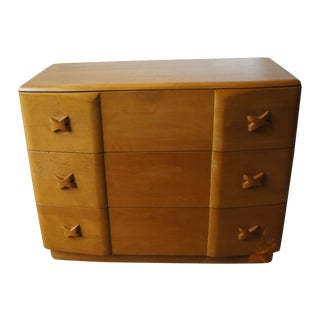 Heywood Wakefield Rio Dresser in Champagne Maple