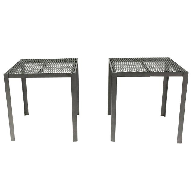 Salterini Side Tables- A Pair - Image 1 of 4