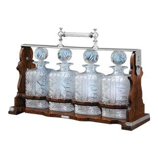 Betjemann's Patent Tantalus - Set of 4