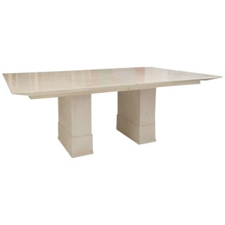 Karl Springer Dining Room Table
