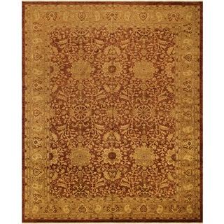 Kafkaz Peshawar Melvin Rust/Gold Wool Rug - 11'9 X 15'5
