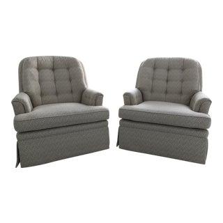 Jessica Charles Club Chairs - a Pair