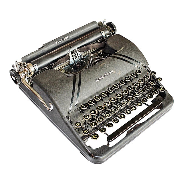Smith-Corona Sterling Typewriter - Image 1 of 10