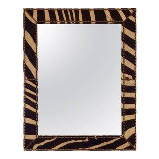Custom Zebra Hide Mirror