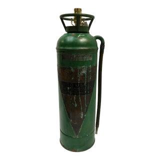 Copper & Brass Fire Extinguisher Lamp