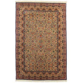 Hand Knotted Chinese Rug - 6' X 9'