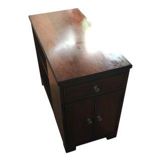 Wood Bookshelf Side Table