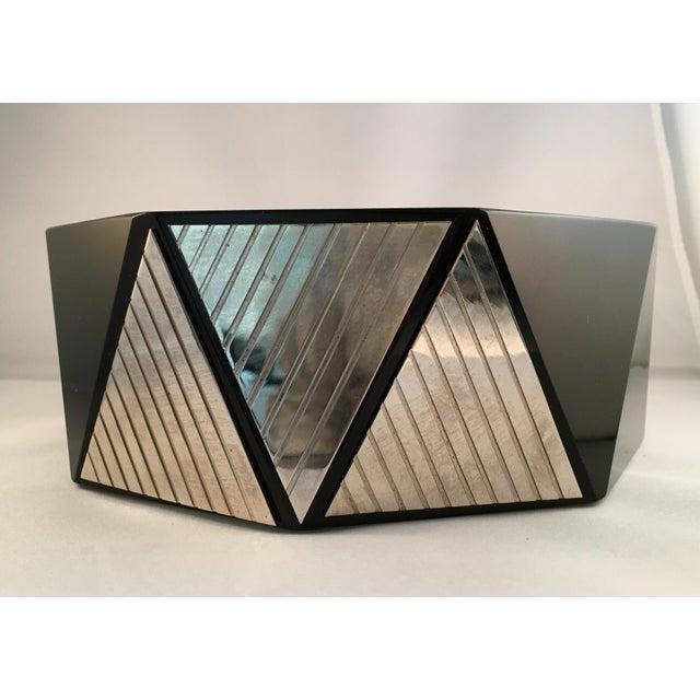 Image of Dara International Art Deco Glass Bowl