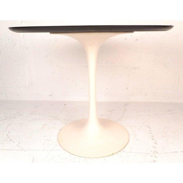 Image of Eero Saarinen Style Vintage Oval Side Table