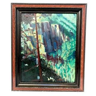 """Yosemite"" Oil on Canvas"