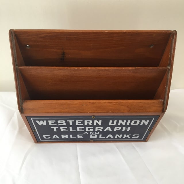 Western Union Telegraph & Cable Blanks Box - Image 3 of 11
