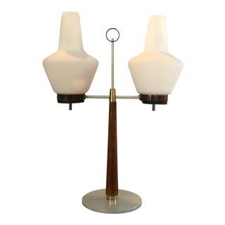 Gerald Thurston Lightolier Mid-Century Modern Hurricane Lamp