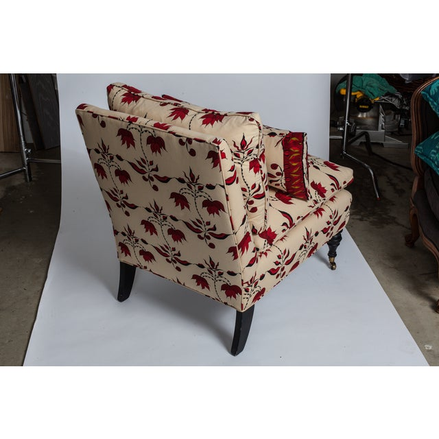 Lulu Dk Upholstered Chairs With Pillows - A Pair - Image 4 of 8