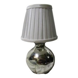 Mercury Glass Table Lamp