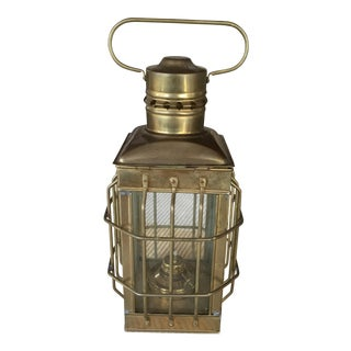Small Brass Oil Lantern