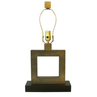 Robert Abbey Square Brass Lamp