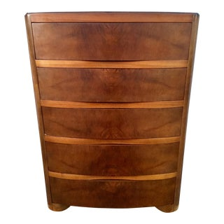 1930's Kling Hollywood Regency Tallboy Chest of Drawers