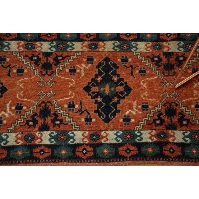 "Vintage Afghan Tent Cover Rug Runner - 1'11"" x 5'8"" - Image 4 of 8"