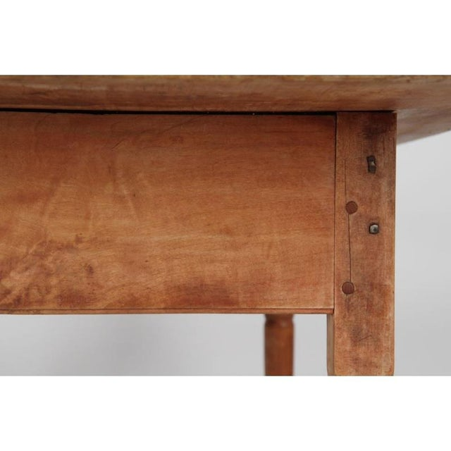 Antique American Pine Farm Table - Image 7 of 11