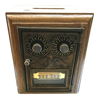 Vintage Looking Bank Box