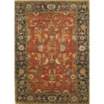 Image of Pasargad Serapi Collection Red Rug - 6' X 9'1""