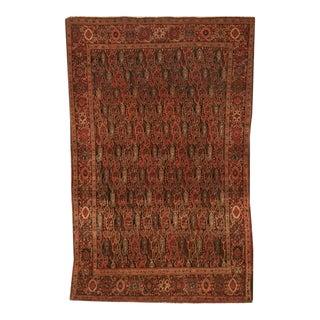 Regal Antique Persian Bidjar Rug