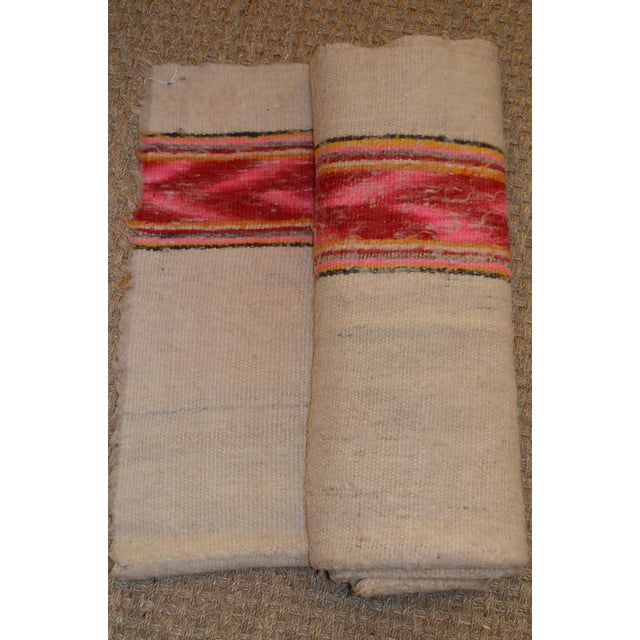 Vintage Handwoven Peruvian Frazada/Blanket - Image 4 of 10