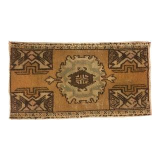 Handmade Anatolian Tribal Carpet - 1′7″ × 2′10″