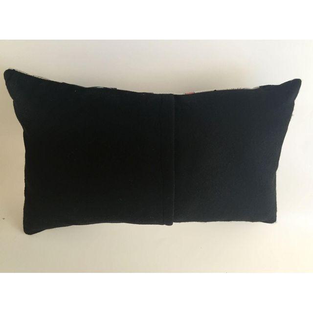 Mid-Century Barkcloth Rectangular Pillow Chairish