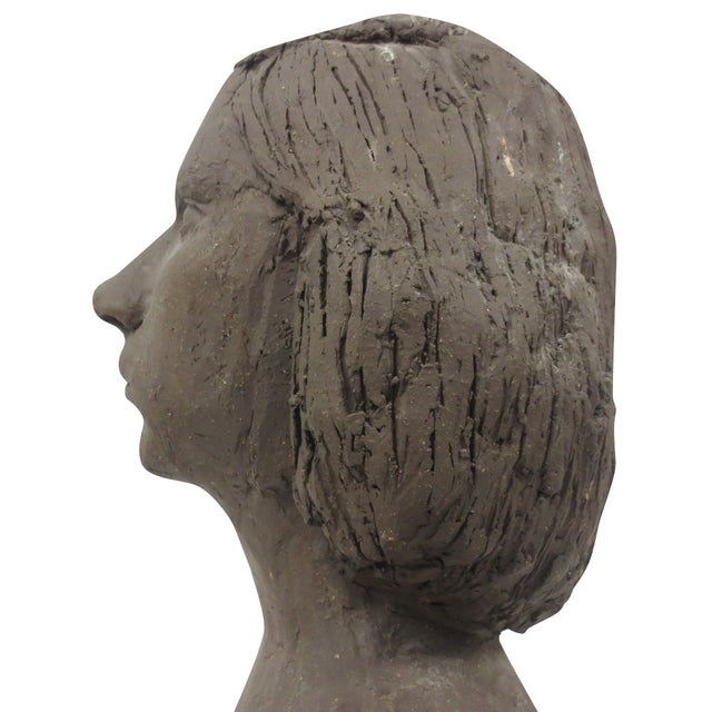 Terracotta Bust of Young Woman - Image 8 of 8