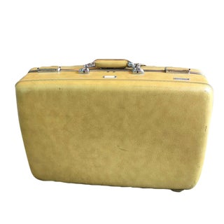 Vintage Mid-Century Escort Suitcase