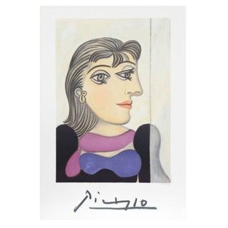 Pablo Picasso - Buste De Femme Au Foulard Mauve