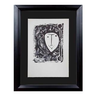 Pablo Picasso 'Elegy' Lithograph