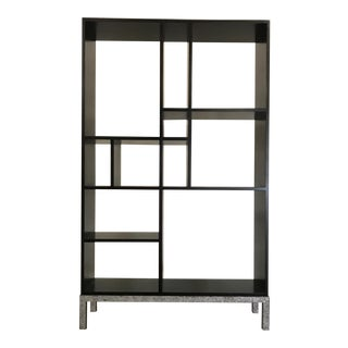 Contemporary Style Solid Wood Bookcase