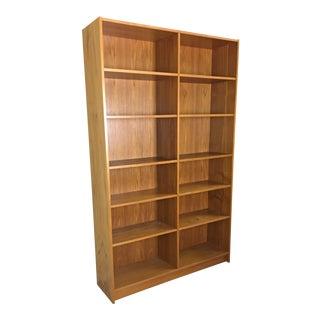 Danish Modern Teak Double Shelf Units