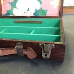 Image of Vintage Artist Box With Green Interior