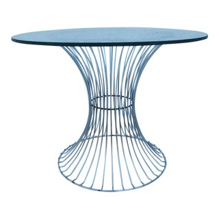 Warren Platner for Knoll Wire Base & Glass Side Table