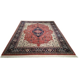 9′ × 12′ Traditional Handmade Knotted Rug - Size Cat. 9x12