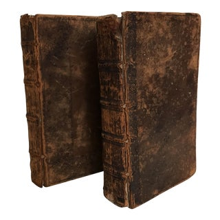 Late 17th Century Books - A Pair
