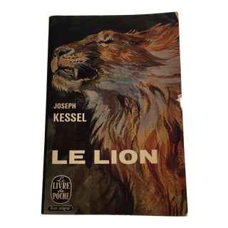 Le Lion Vintage French Paperback Book 1958